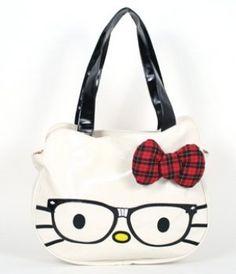 Hello Kitty Nerd Face Bag by Hello Kitty. $48.00. Hello Kitty Nerd Face Bag