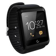 Excelvan U11 - Smartwatch Bluetooth Reloj Inteligente para Smartphone Móviles de Android/iOS, Negro - https://complementoideal.com/producto/tienda-socios/excelvan-u11-smartwatch-bluetooth-reloj-inteligente-para-smartphone-mviles-de-android-ios-negro/