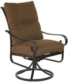 Heritage Outdoor Living Cast Aluminum Tortuga Outdoor Patio Swivel Rocker with Cushion - Antique Bronze Finish - Set of 2. 15-Year Frame Warranty - Heritage Outdoor Living products are sold through our Exclusive Amazon.com Retail Partner - Patio Import. Fully Welded, Solid Cast Aluminum Construction is 100% Rust Free!. Masterfully Crafted To Combine Comfort, Elegance, & Quality. Five Stage Powder Coated Finish is the Toughest in the Outdoor Furnishings Industry - Antique Bronze Finish....