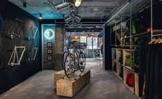Factory Five Boutique & Fixed Gear Bycicle Shop by Linehouse Architects, Shanghai – China » Retail Design Blog