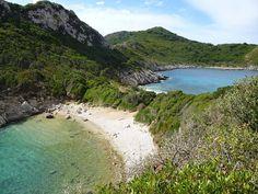 Corfù, in Grecia: Porto Timoni