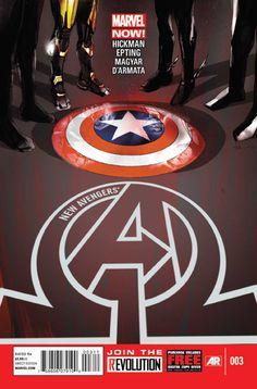 New Avengers Vol. 3 # 3 by Jock