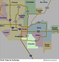 Map Of Arizona Showing Queen Creek.50 Best South East Valley Real Estate Arizona Images