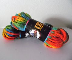 Items similar to Lion Brand Big Prints Super Bulky Wool Blend Yarn on Etsy Cheap Yarn, Lion Brand, Wool Blend, Trending Outfits, Big, Unique Jewelry, Handmade Gifts, Prints, Vintage