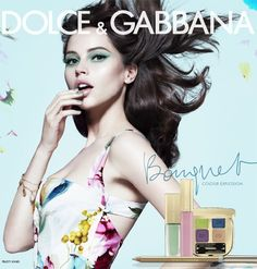 felicity jones, dolce & gabbana, cosmetic collection, ad campaign, spring 2012