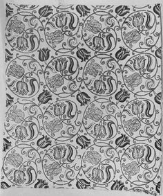 embroidered linen, 1630-1699, English