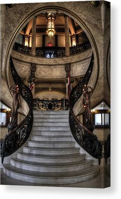 Stairs Architecture, Futuristic Architecture, Beautiful Architecture, Architecture Details, Interior Architecture, Gothic Mansion, Gothic House, Dream Home Design, Home Interior Design