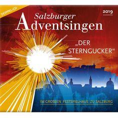 Der Sterngucker war 2019 der Titel des  Salzburger Adventsingen im Großen Festspielhaus - Hier können Sie die CD dazu online bestellen! Movie Posters, Movies, Stars, 2016 Movies, Popcorn Posters, Movie, Films, Film Books, Film Posters