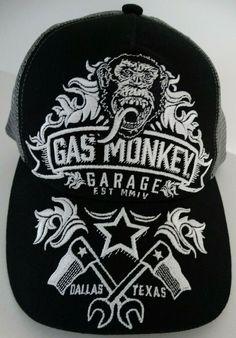 cc3a16dab1fae Fast N Loud Gas Monkey Garage Dallas Texas Flags Trucker Hat Nwt   GasMonkeyGarage  TruckerHat