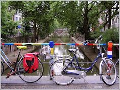 Canal and bikes (Utrecht) - yes, typically Dutch. #Dutch #Utrecht #Netherlands