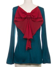 Pinkz Boutique - Put A Bow On It Cardigan, $45.00 (http://www.shoppinkz.com/put-a-bow-on-it-cardigan/)