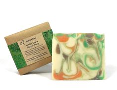 White Tea and Ginger Soap Handmade Soap Vegan by SimpleHomeAccents