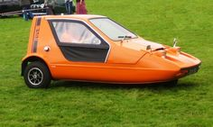 The Bond Bug looked similar to the Reliant Robin, and it was no coincidence: the Bug was actually cr... - Wikimedia Commons/Charles01