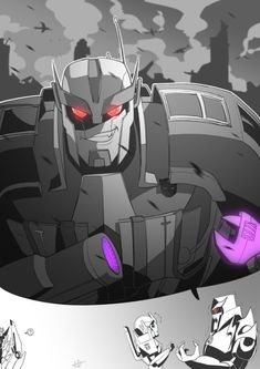 The warmonger Ratchet Transformers Funny, Transformers Decepticons, Transformers Characters, Transformers Bumblebee, Shattered Glass, Cyberpunk Art, Animated Cartoons, Optimus Prime, Robot
