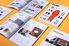 Futu Magazine is a Polish magazine highlighting the best in design, business, ideas and technology. It's mission is to feature what's new and exciting in Poland and bring international innovations to the attention of the local market. Graphic Design Layouts, Graphic Design Branding, Layout Design, Design Café, Print Design, Print Magazine, Magazine Design, Book Cover Design, Book Design