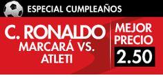 sportium super cuota gol Ronaldo o Neymar liga bbva 5 febrero