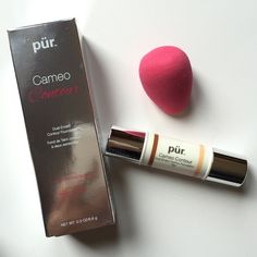 NEW - PÜR COSMETICS Cameo Contour Stick in Tan NEW - PÜR COSMETICS - Cameo Contour Dual-Ended Contour Stick in Tan. Original Price $39.50. TRADING                                                                       Using light-reflective microspheres, this 2-in-1 complexion innovation emphasizes your face's natural highlights and lowlights while simultaneously blurring the look of imperfections, such as dark spots and fine lines. PÜR Cosmetics Makeup