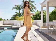 """We are making the """"little yellow dress"""" a thing. 