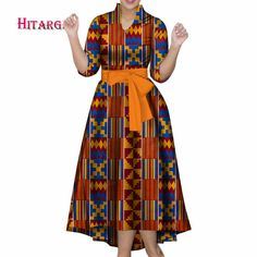 New Vintage African Women Patchwork Bow knot A line Dresses Ankara Clothes Bazin Rihce African Print Dresses for Women 2 - AliExpress Red Peplum Dresses, African Maxi Dresses, Latest African Fashion Dresses, African Dresses For Women, Ankara Dress, African Print Fashion, Africa Fashion, African Women, Lovely Dresses