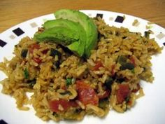 "Panamanian Dish: ""Coconut Rice and Beans"""