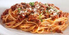 Pasta, Spaghetti, Ethnic Recipes, Paradise, Food, Spaghetti Bolognese, Recipes, Sauces, Essen