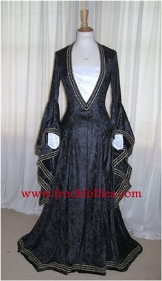 Eleanor a Medieval Renaissance Pagan Custom Made by frockfollies, $281.00