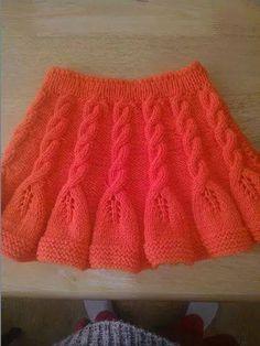 Likes, 45 Comments - Muhacir. Crochet Dress Outfits, Girls Knitted Dress, Knit Baby Dress, Knitted Baby Clothes, Crochet Skirts, Knit Skirt, Dress With Cardigan, Knitting For Kids, Easy Knitting
