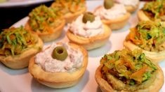 Easy and delicious for an aperitif, appetizer or party # 171 Antipasto, Bagel, Finger Foods, Baked Potato, Appetizers, Bread, Snacks, Kitchen Stuff, Cooking