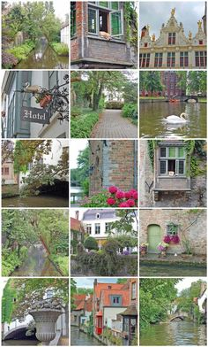 Bruges-one of my favorite cities in Belgium :) When you visit you must take a canal tour.