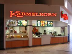 Karmelkorn and Orange Julius in the mall