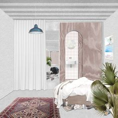The project is concerned with architecture where dwelling and making overlap and its contribution to the city. Urban Interior Design, Interior Design Renderings, Interior Design Presentation, Interior Rendering, Presentation Boards, Architectural Presentation, Architectural Models, Architectural Drawings, Urban Design