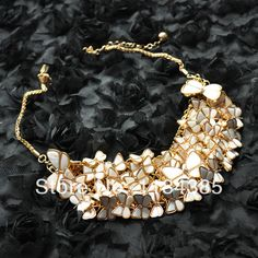 Gold Chain Butterfly Necklace Long Big Pendant Necklace