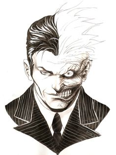 Two face drawing