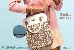 Miche Shelby Tech Bag - stylishly carries your tablet or iPad | Shop MyStylePurses.com - available February 1, 2014