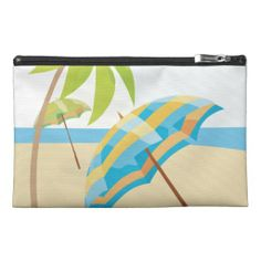 Beach Vacation Travel Accessory Bags