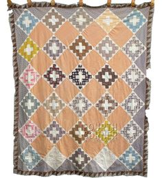 SPLENDID butterscotch purple/mauve CHIMNEY SWEEP antique quilt TOP--the fabrics! eBay, fourthcornerfinds