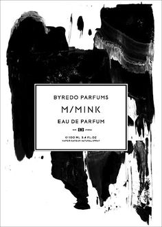 M/M(Paris) gorgeous perfume label #branding