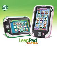 Listen up, moms and dads! How would you like to win a LeapPad Ultra for your little guy or girl? Invite friends to enter with you, and if they win, you win too!