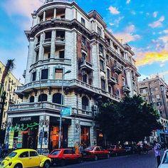 Downtown #cairo #Egypt #egypttouring