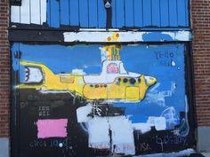 #YellowSubmarine #AsburyPark #Mural #Boardwark 2016
