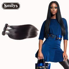 6A Peruvian Virgin Hair Straight 4 Bundles Hair Wig Products Human Hair Weave Unprocessed Mink Peruvian Straight Hair