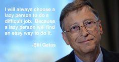 Spoken by Bill Gates