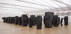 EXPANSION FIELD Antony Gormley sculptures, paintings, plastic arts, visual arts, art