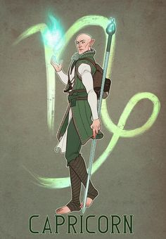Just finished Solas as Capricorn in my Dragon Age Inquisition Zodiac series! That was a lot of fun to make! Now, off to update a neglected comic, ahaaahahaa. Solas Dragon Age, Dragon Age Memes, Dragon Age 2, Dragon Age Origins, Dragon Age Inquisition, Skyrim, Birthday Scenario Game, Shall We Date, Nerdy