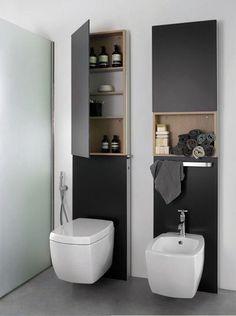 100 Inspired Bathroom Storage Units for Modern Minimalist Bathroom Bathroom Storage Units, Bathroom Sink Cabinets, Bathroom Mirror Cabinet, Mirror Cabinets, Bathroom Toilets, Small Bathroom, Cabinet Storage, Medicine Cabinets, Bathroom Layout