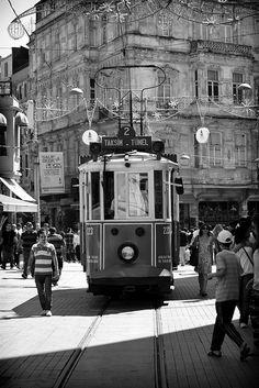 Istiklal Street, Taksim, Istanbul, Turkey