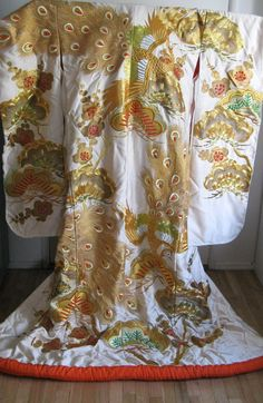 Japanese Wedding Kimono or Uchikake by AllAboutEvette on Etsy, $1,600.00