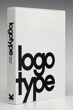 New Work: Logotype   New at Pentagram Logotype is a new book that showcases over 1,300 type-based logos.