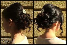 Noémi csodás kontyot készített :) Nektek is tetszik?  #hair #hairbun #wedding #bridal #konty #esküvőikészülődés #esküvőmlesz #esküvőikonty #menyasszonyihaj #menyasszonyikonty #szépségszalon #beautysalon #hairdresser #fodrász