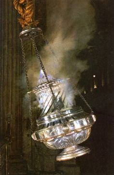 The Botafumeiro in the Cathedral Santiago de Compostela. You have finally arrived when u see this but your journey/camino is not yet over. Spiritual Photos, Burning Incense, Research Images, The Camino, Pentecost, Papa Francisco, Roman Catholic, Pilgrimage, Glass Vase
